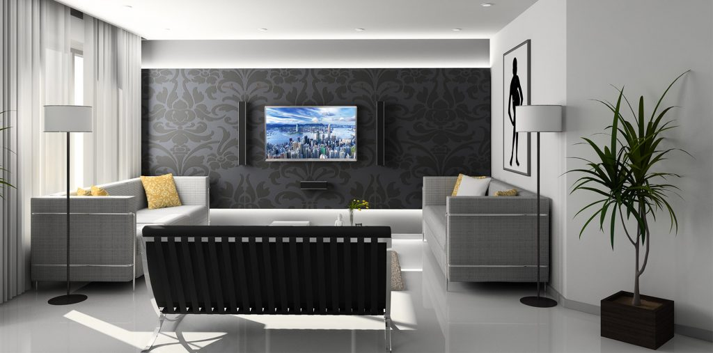 JN-V400UHD on wall design