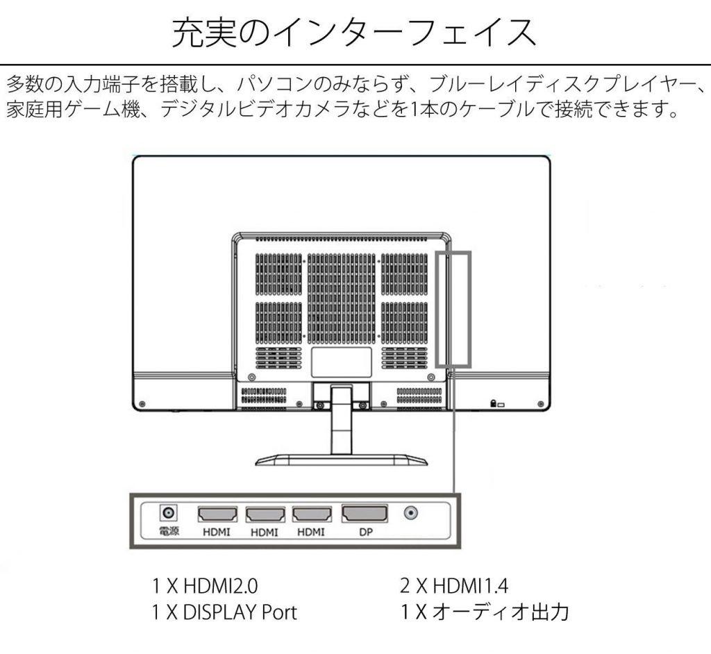JN-IPS244UHD port white2