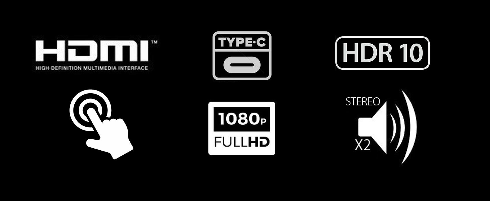 タッチパネル採用15.6インチ モバイルモニターJN-MD-IPS1560TFHDRついに誕生! 1920x1080 IPSパネルで色鮮やか。HDR対応 type-C HDMI 極薄 超軽量